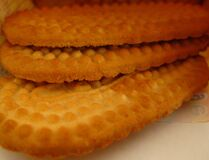 sweet-dry-biscuits Stock Photos