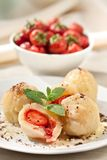 Sweet dumplings royalty free stock photos