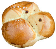 Sweet Easter Bread Cutout Stock Images