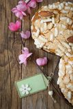 Colomba easter cake Royalty Free Stock Photos