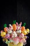 Sweet Easter cake pops Stock Images