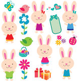 Sweet easter clip art Royalty Free Stock Image