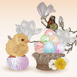Sweet Easter composition Royalty Free Stock Photo