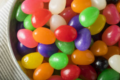 Sweet Easter Egg Shaped Jelly Candies Royalty Free Stock Photography