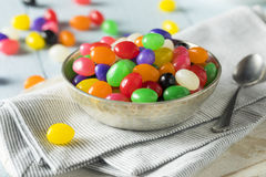 Sweet Easter Egg Shaped Jelly Candies Royalty Free Stock Image