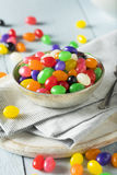 Sweet Easter Egg Shaped Jelly Candies Stock Photography