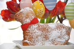 Sweet Easter Lamb Cake Stock Image