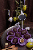 Sweet easter still life Royalty Free Stock Photography