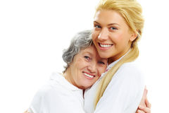 Sweet embrace Stock Photography