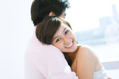 Sweet embrace Royalty Free Stock Images