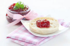 Sweet english muffin Stock Photography