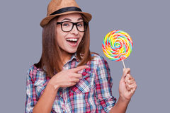 Sweet and extremely big. Royalty Free Stock Photography