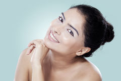 Sweet face of young woman Royalty Free Stock Photo