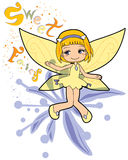 Sweet fairy Stock Image