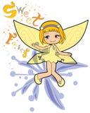 Sweet fairy stock image