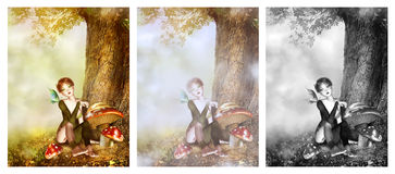 Sweet Fairy royalty free stock photography