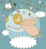 Sweet Fairy Card Royalty Free Stock Photos