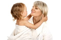 Sweet family Royalty Free Stock Images
