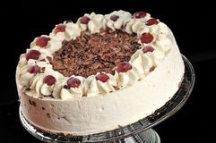 Sweet fancy cake royalty free stock image