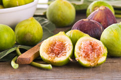 Sweet figs. Stock Photography