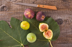 Sweet figs. Royalty Free Stock Photography