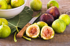 Sweet figs. Royalty Free Stock Image