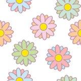 Sweet flowers seamless. Vector eps vector illustration