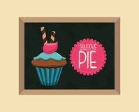 Sweet food design Stock Photo