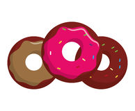 Sweet food design Royalty Free Stock Image
