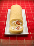 Sweet food dessert, cake in setting minimal Stock Images