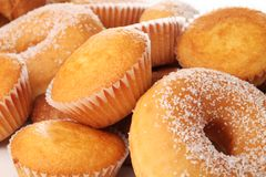 Sweet food stock images
