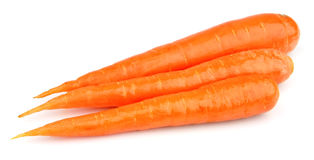 Sweet and freash carrots Stock Image