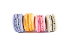 The Sweet French Macaroons Stock Images