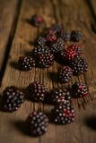 Sweet fresh  blackberry Royalty Free Stock Photography