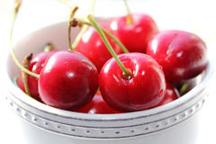 Sweet fresh cherry Stock Photos