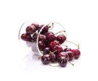 Sweet fresh cherry isolated on white background Royalty Free Stock Photo
