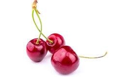 Sweet fresh cherry  Royalty Free Stock Photos