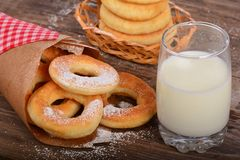 Sweet fresh donuts Royalty Free Stock Image