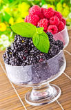 Sweet fresh fruits Royalty Free Stock Photos
