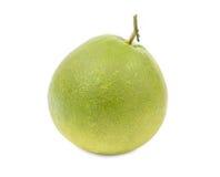Sweet fresh green grapefruit isolated on white background Royalty Free Stock Photography