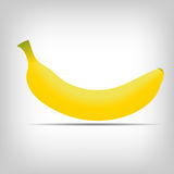 Sweet fresh yellow bananas vector illustration Royalty Free Stock Photo