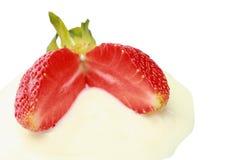 Freshing red strawberry. Sweet & freshing red strawberry Stock Image