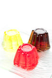 Sweet  friuit gelatin Royalty Free Stock Photography