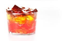 Sweet  friuit gelatin Stock Photo