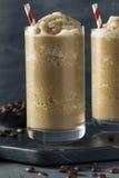 Sweet Frozen Iced Coffee Slushie Stock Photography