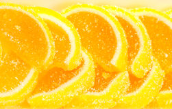 Sweet fruit jelly  - lemons Stock Photography
