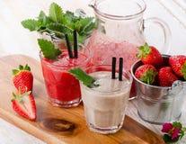 Sweet fruit  smoothie Royalty Free Stock Photos