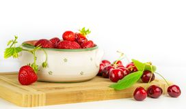 Sweet fruit still life stock photo