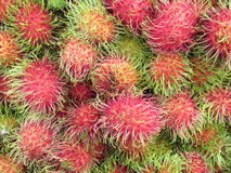 Sweet fruits rambutan Royalty Free Stock Images
