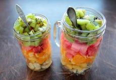 Sweet fruits salad Stock Photography
